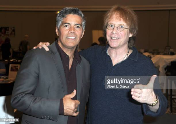 Actors Esai Morales and Billy Mumy at The Hollywood Show held at Westin LAX Hotel on October 21 2017 in Los Angeles California