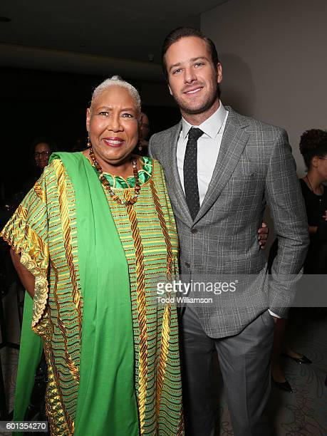Actors Esther Scott and Armie Hammer attend Fox Searchlight's The Birth of a Nation special presentation during the 2016 Toronto International Film...