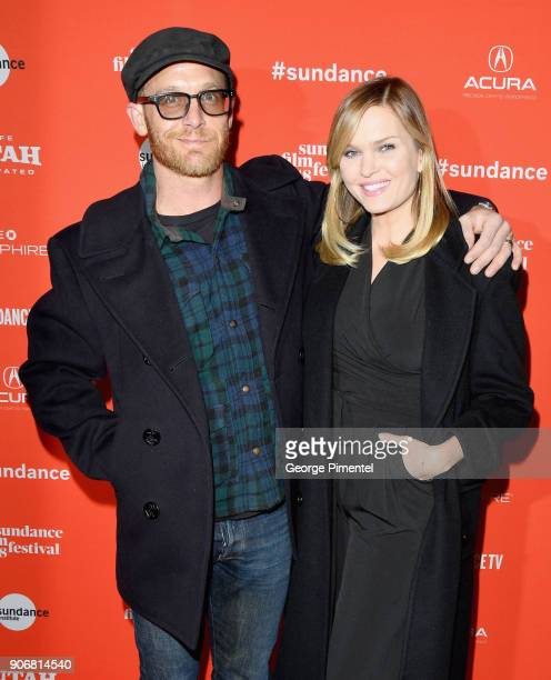 Actors Ethan Embry and Sunny Mabrey attend the 'Blindspotting' Premiere during the 2018 Sundance Film Festival at Eccles Center Theatre on January 18...