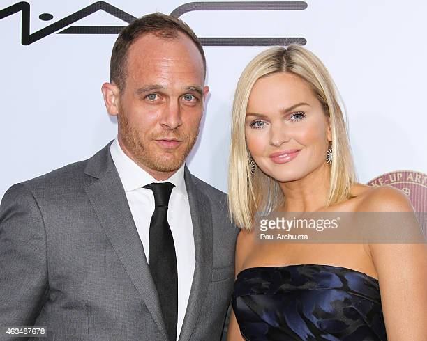 Actors Ethan Embry and Sunny Mabrey attend the MakeUp Artists Hair Stylists Guild Awards at The Paramount Theater on the Paramount Studios lot on...