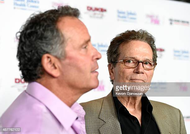 Actors Ethan Wayne and Patrick Wayne attend Power of Pink 2014 Benefiting the Cancer Prevention Program at Saint John's Health Center at The House of...