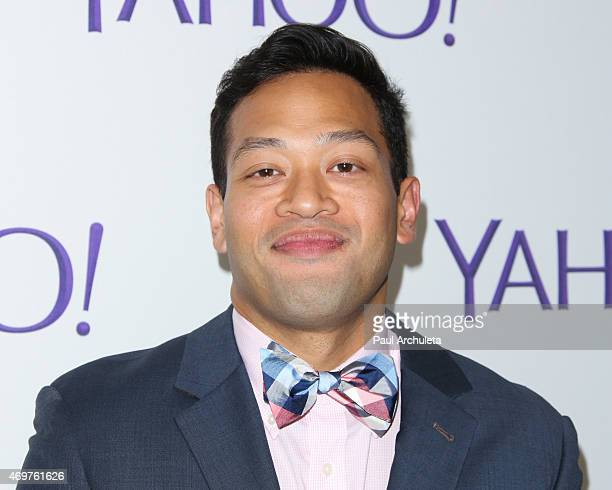 """Actors Eugene Cordero attends the launch party for Paul Feig's new show """"Other Space"""" at The London on April 14, 2015 in West Hollywood, California."""