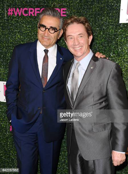 Actors Eugene Levy and Martin Short attend An Unforgettable Evening at the Beverly Wilshire Four Seasons Hotel on February 16 2017 in Beverly Hills...