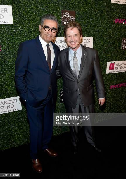 Actors Eugene Levy and Martin Short attend WCRF's 'An Unforgettable Evening' presented by Saks Fifth Avenue at the Beverly Wilshire Four Seasons...