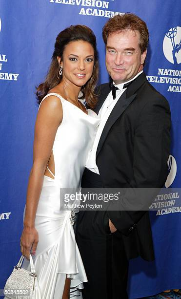 Actors Eval La Rue and John Callahan arrive at the 31st Annual Creative Craft Daytime Emmy Awards at the Marriott Marquis May 15, 2004 in New York...