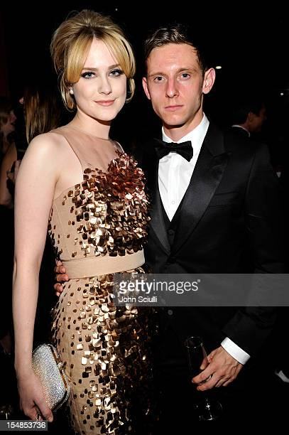 Actors Evan Rachel Wood and Jamie Bell attend LACMA 2012 Art Film Gala Honoring Ed Ruscha and Stanley Kubrick presented by Gucci at LACMA on October...