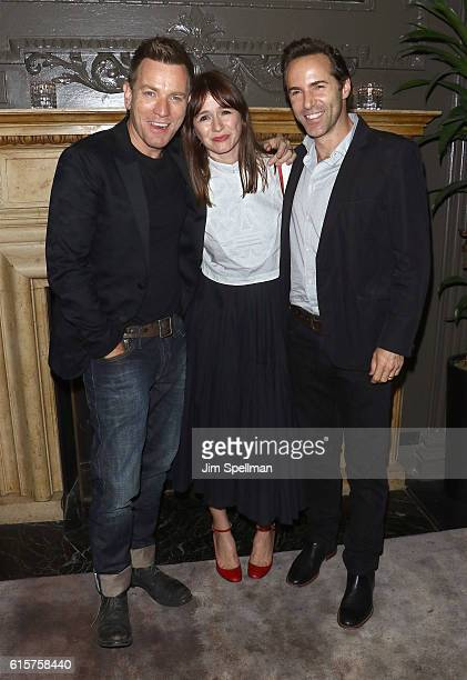 Actors Ewan McGregor Emily Mortimer and Alessandro Nivola attend the after party for the screening of 'American Pastoral' hosted by Lionsgate and...