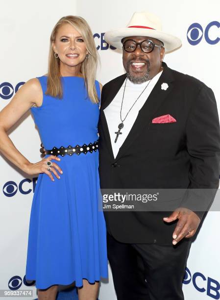 Actors Faith Ford and Cedric the Entertainer attend the 2018 CBS Upfront at The Plaza Hotel on May 16 2018 in New York City