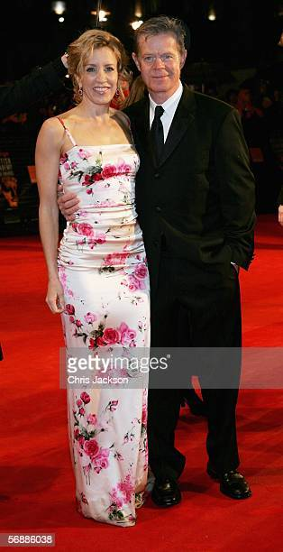 Actors Felicity Huffman and husband William H Macy arrive at The Orange British Academy Film Awards at the Odeon Leicester Square on February 19 2006...