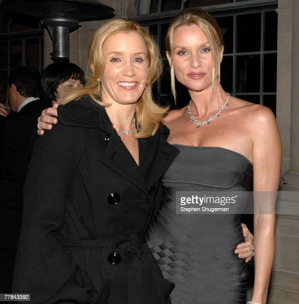 ACCESS** Actors Felicity Huffman and Nicolette Sheridan attend Simply Spectacular Tiffany Co Celebrates 2008 Blue Book Collection at Greystone...