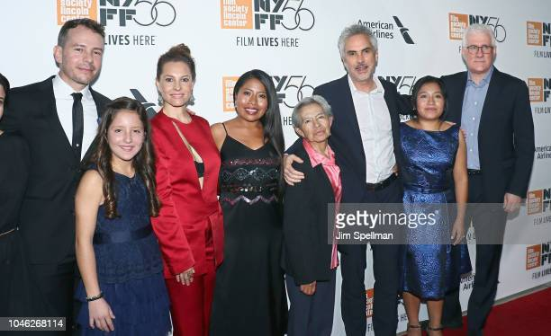 Actors Fernando Grediaga Daniela Demesa Marina De Tavira Yalitza Aparicio Libo Rodriguez director Alfonso Cuaron actress Nancy Garcia and executive...