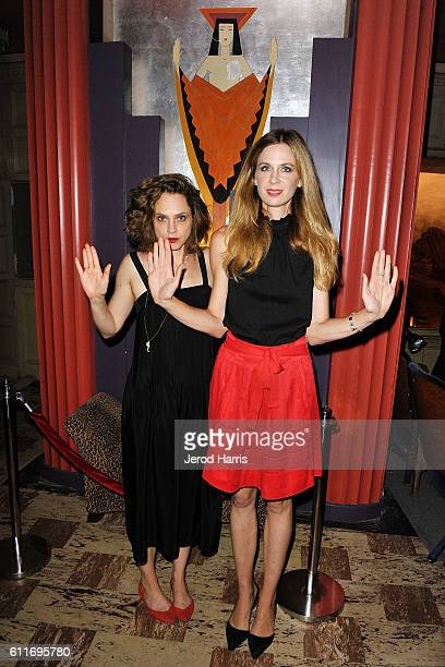 Actors Fiona Dourif and Anne Dudek attend the 2016 Catalina Film Festival on September 30 2016 in Catalina Island California