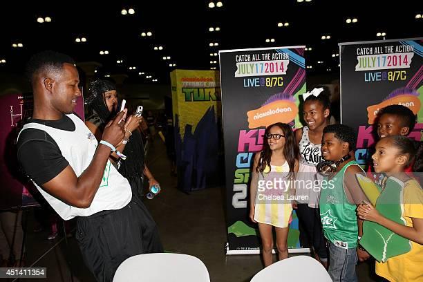 Actors Flex Alexander Breanna Yde Benjamin Glores Jr and guests attend Fan Fest ATT Geico Poetic Jeans Sneaker Con Tennis Xbox Health And Wellness...