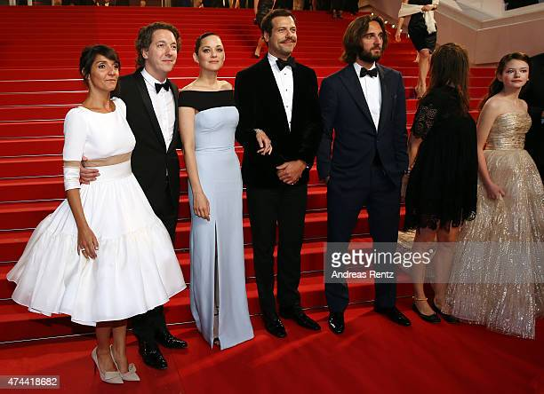 Actors Florence Foresti Guillaume Gallienne Marion Cotillard Laurent Lafitte Producer Dimitri Rassam guest and Actress Mackenzie Foy the Premiere of...