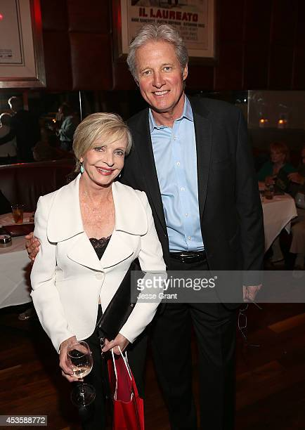 Actors Florence Henderson and Bruce Boxleitner attend the Launch Party for New Novel Botticelli's Bastard by Stephen MaitlandLewis Hosted by The...