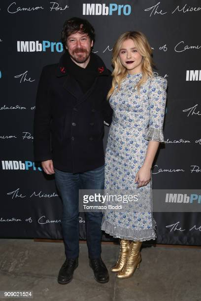 Actors Forrest Goodluck and Chloe Grace Moretz attend The IMDbPro Party to Celebrate the Premiere of 'The Miseducation of Cameron Post' and Launch of...