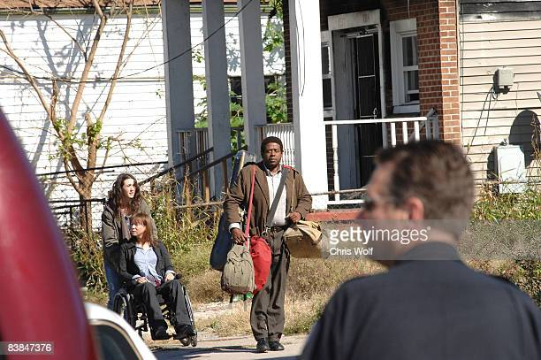 NEW ORLEANS NOVEMBER 25 Actors Forrest Whittaker Rene Zellwegger and Madeline Zima seen filming My Own Love Song on November 25 2008 in New Orleans...