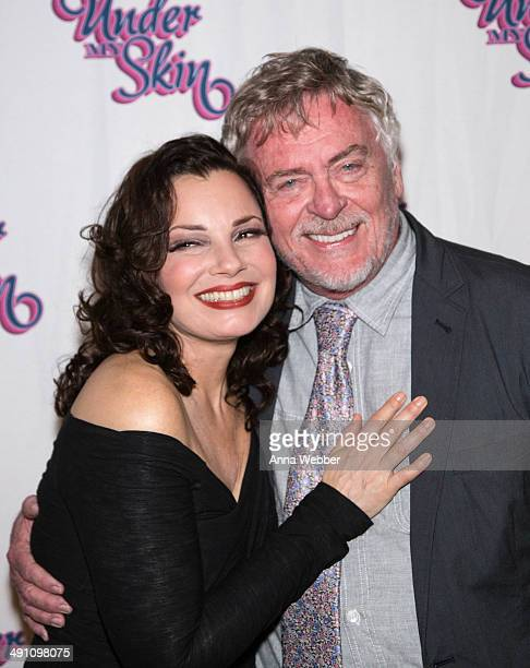 Actors Fran Drescher and Daniel Davis arrive to the Under My Skin Opening Night at Shubert Theatre on May 15, 2014 in New York City.