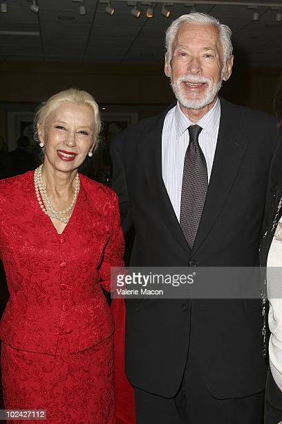 Actors France Nuyen and John Kerr attend AMPAS Screening Of Restored 70mm Print Of South Pacific on June 25 2010 in Beverly Hills California