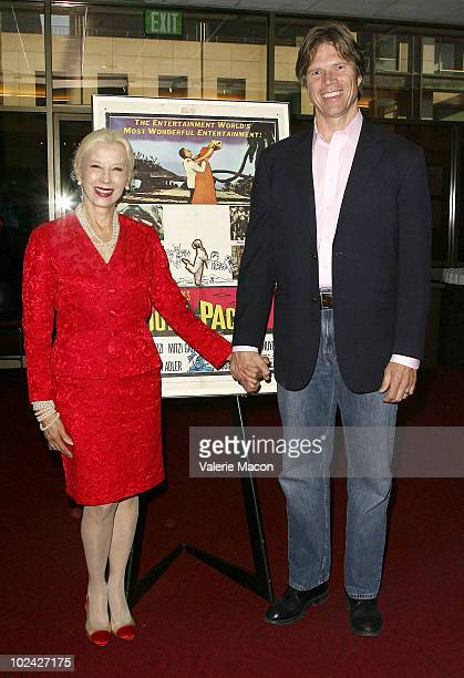 Actors France Nuyen and Rod Gilfry attend AMPAS Screening Of Restored 70mm Print Of South Pacific on June 25 2010 in Beverly Hills California