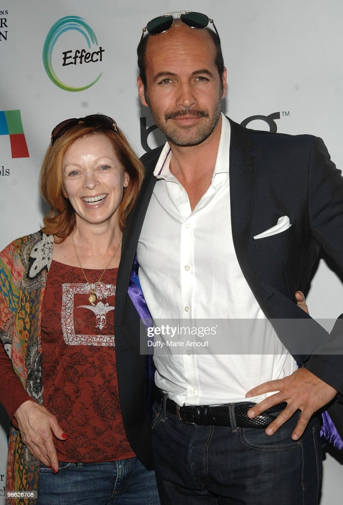 Actors Frances Fisher and Billy Zane attend Global Home Tree event celebrating the 40th Anniversary of Earth Day at JW Marriott Los Angeles at L.A. LIVE on April 22, 2010 in Los Angeles, California.