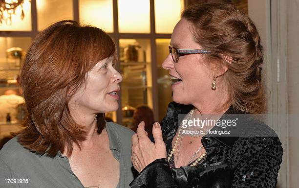 Actors Frances Fisher and Melissa Leo attend The Creative Coalition's 2013 Summer Soiree at Mari Vanna Los Angeles on June 19 2013 in West Hollywood...