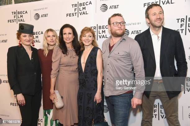 Actors Francesca Faridany Dree Hemingway Andie MacDowell Juliet Rylance James Adomian and Chris O'Dowd attend the 'Love After Love' screening during...