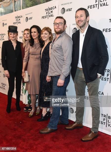 Actors Francesca Faridany Dree Hemingway Andie MacDowell Juliet Rylance James Adomian and Chris O'Dowd attend the 'Love After Love' premiere during...