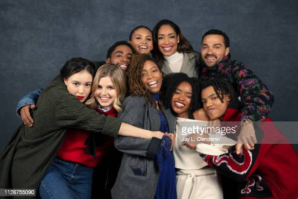 Actors Francesca Noel Ana Mulvoy Ten Jharrel Jerome Celeste O'Connor writer/director Tayarisha Poe Gina Torres Lovie Simone Jesse Williams and Henry...