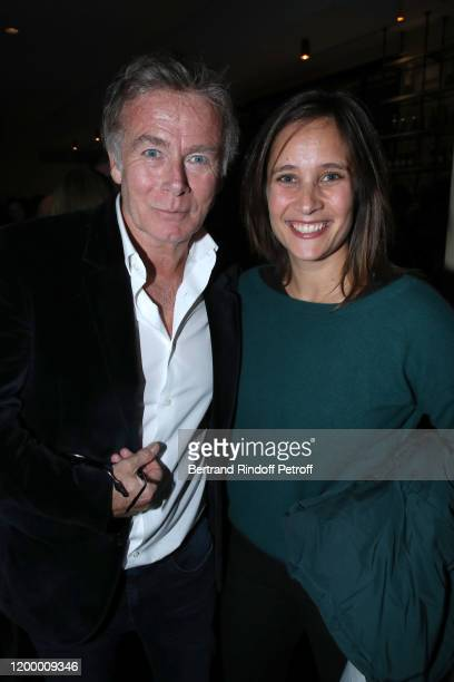 "Actors Franck Dubosc and Julie de Bona attend the Exceptional performance of ""Dream - Compagnie Julien Lestel"" at Salle Pleyel on January 16, 2020 in..."