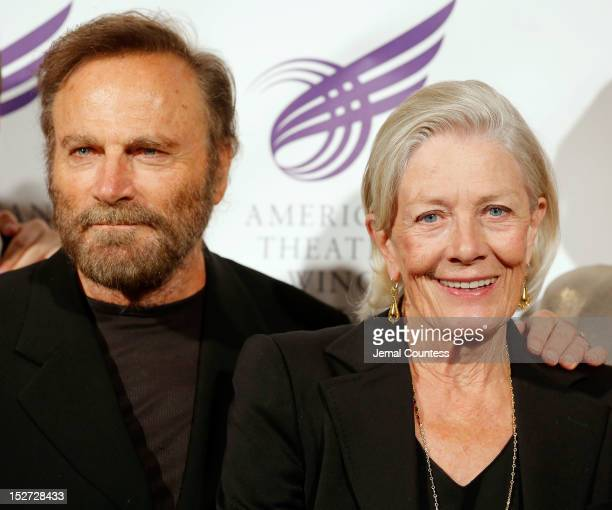 Actors Franco Nero and Vanessa Redgrave attend The American Theatre Wing's 2012 Annual Gala at The Plaza Hotel on September 24 2012 in New York City