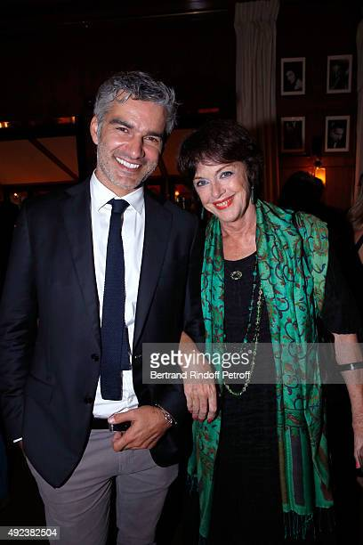 Actors Francois Vincentelli and Anny Duperey attend the Fouquet's Paris Restaurant presents its Menu 'Twisted' by the Chef Pierre Gagnaire Held at Le...