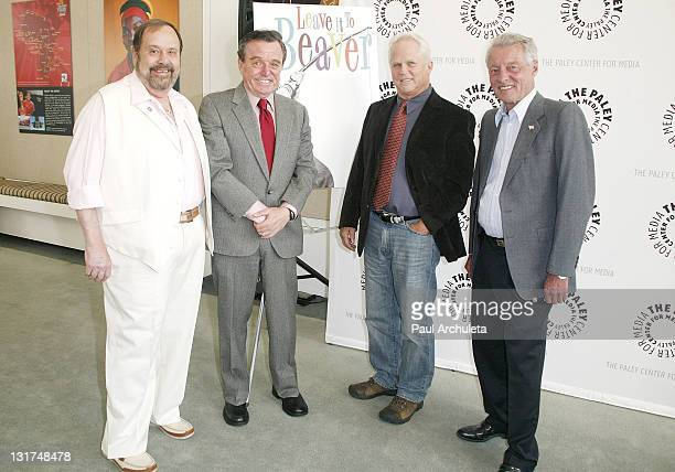 Actors Frank Bank Jerry Mathers Tony Dow Ken Osmond arrive at the Paley Center for Media's PaleyFest Rewind Leave It To Beaver at The Paley Center...