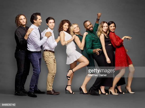 Actors Frank Dillane Cliff Curtis Lorenzo James Henrie Mercedes Mason Kim Dickens Coleman Domingo Alycia DebnamCarey and Danay Garcia from 'Fear of...