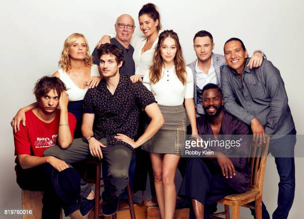 Actors Frank Dillane Kim Dickens Daniel Sharman Dayton Callie Mercedes Mason Alycia DebnamCarey Sam Underwood Colman Domingo and Michael Greyeyes...