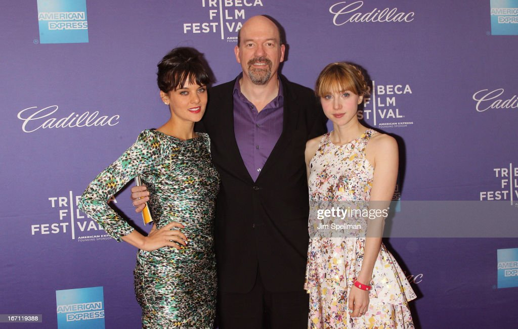 Actors Frankie Shaw, John Carroll Lynch and Zoe Kazan attend the screening of 'The Pretty One' during the 2013 Tribeca Film Festival at SVA Theater on April 20, 2013 in New York City.
