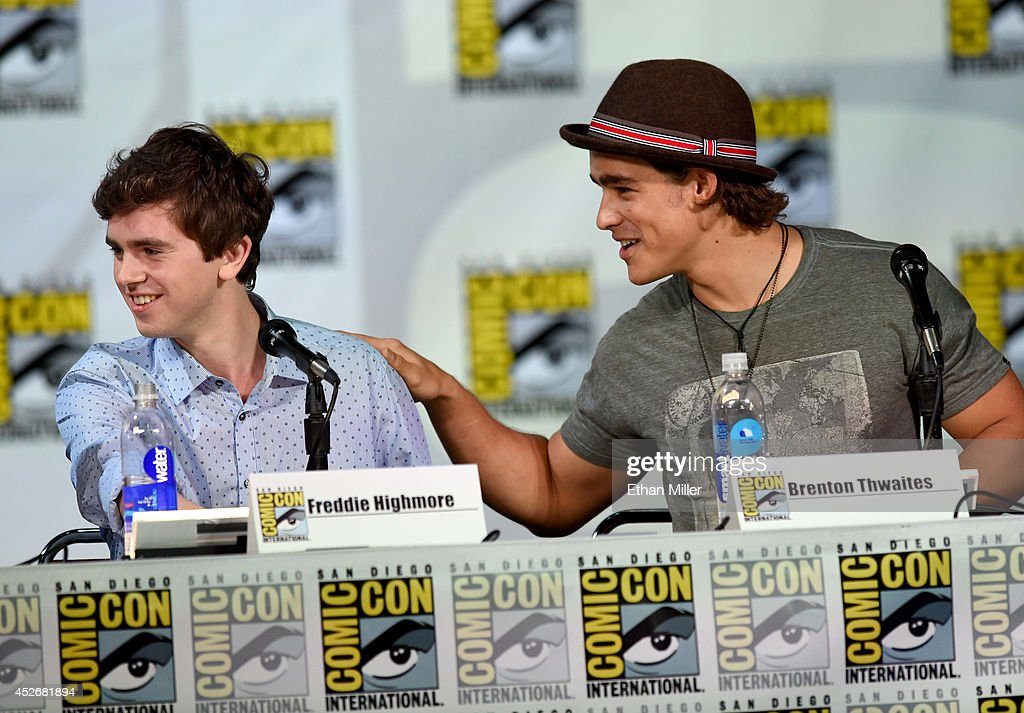 Entertainment Weekly: Brave New Warriors - Comic-Con International 2014 : News Photo