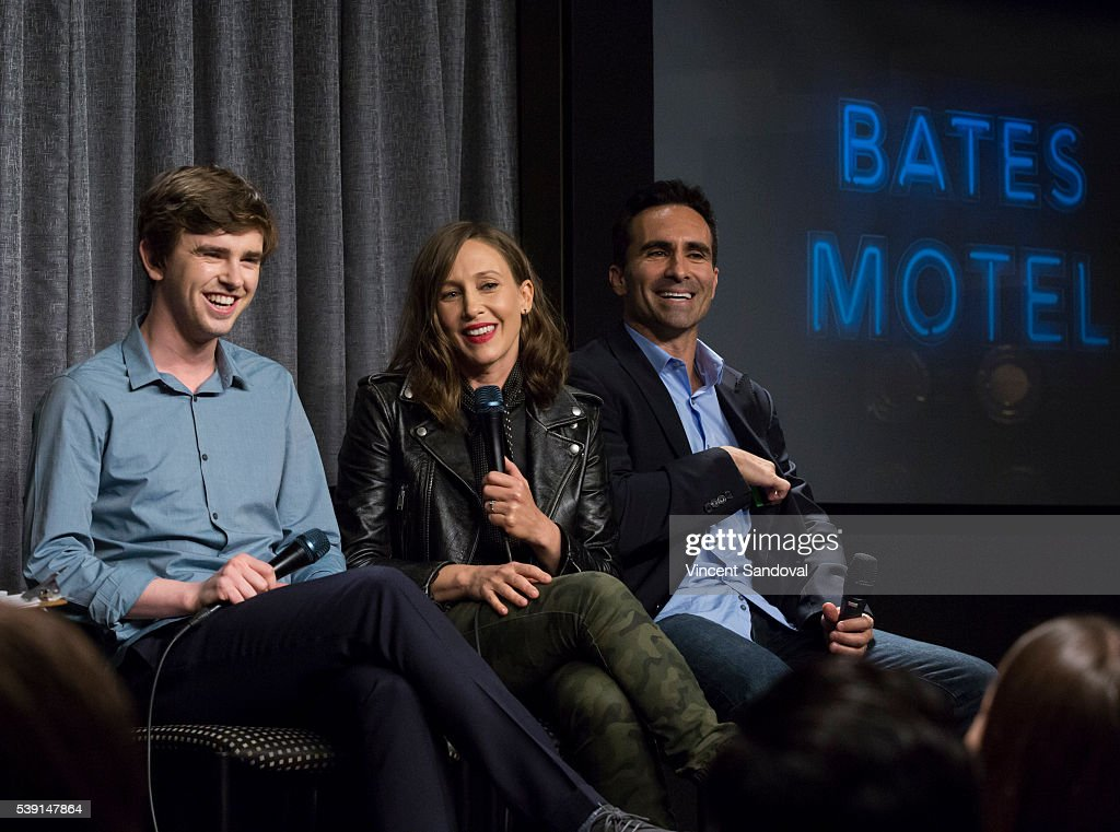 "SAG-AFTRA Foundation Conversations With ""Bates Motel"" : News Photo"