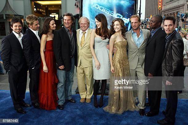 Actors Freddy Rodriguez, Mike Vogel, Mia Maestro, Kurt Russell, director Wolfgang Petersen, actors Jacinda Barrett, Emmy Rossum, Josh Lucas, Andre...