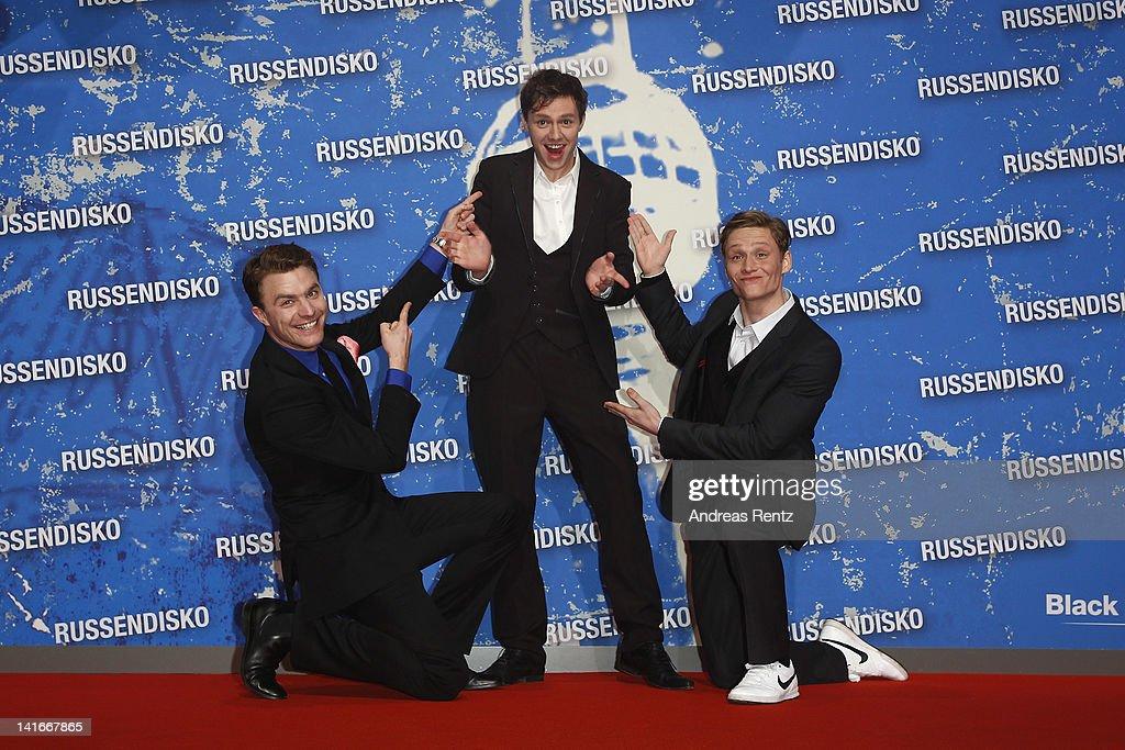 'Russendisko' World Premiere : News Photo