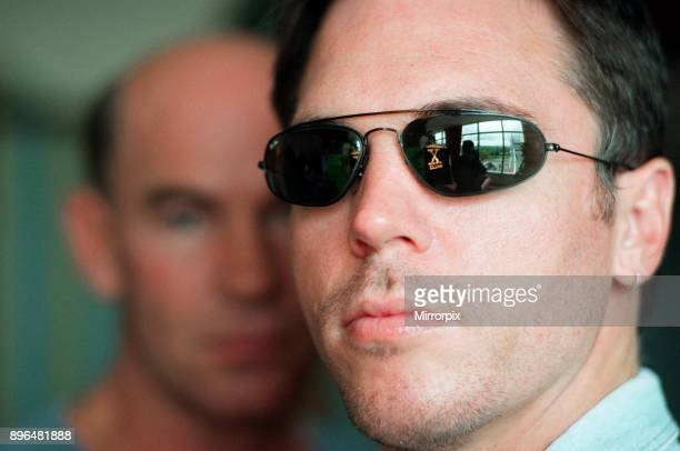 Actors from the television series The XFiles Nicolas Lea and Mitch Pileggi 21st June 1996