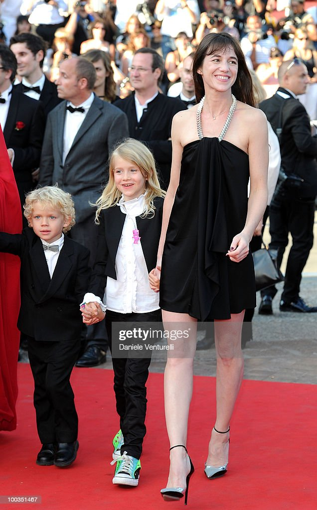 Actors Gabriel Gotting, Morgana Davies and Charlotte Gainsbourg attend 'The Tree' Premiere held at the Palais des Festivals during the 63rd Annual International Cannes Film Festival on May 23, 2010 in Cannes, France.