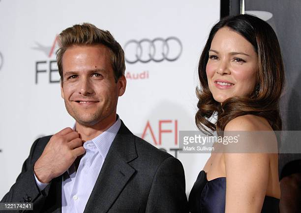 Actors Gabriel Macht and Jacinda Barrett attend AFI Fest 2010 Opening Night Gala Screening Of Love And Other Drugs at Grauman's Chinese Theatre on...