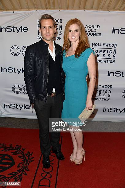 Actors Gabriel Macht and Sarah Rafferty arrives at the 13th Annual InStyle And The Hollywood Foreign Press Association's Toronto International Film...