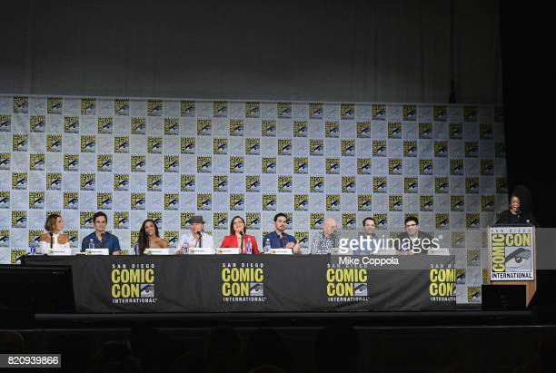 Actors Gabrielle Anwar Andrew J West Dania Ramirez Robert Carlyle Lana Parrilla and Colin O'Donoghue writer/producers David H Goodman Edward Kitsis...