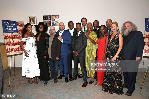 Actors Gabrielle Union Aunjanue Ellis Jackie Earle Haley Jason Stuart Chike Okonkwo writer/actor/director Nate Parker Armie Hammer Esther Scott...