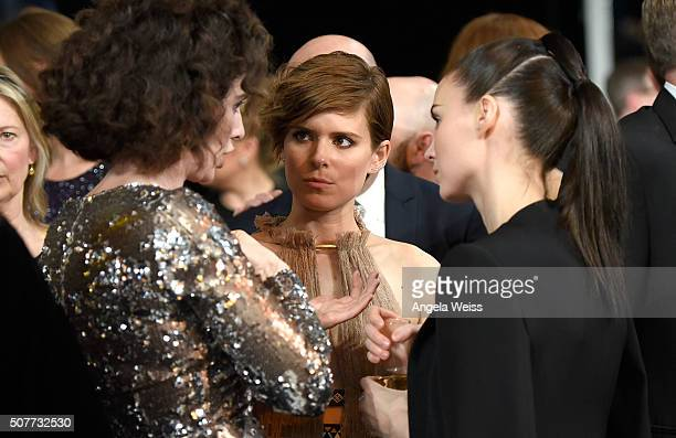 Actors Gaby Hoffmann Kate Mara and Rooney Mara attend the 22nd Annual Screen Actors Guild Awards at The Shrine Auditorium on January 30 2016 in Los...