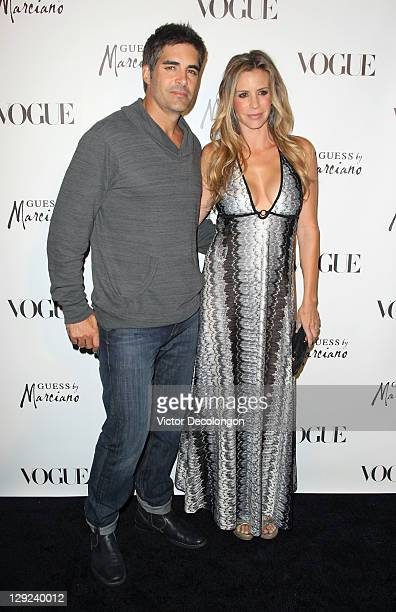 Actors Galen and Jenna Gering arrive for the GUESS By Marciano VOGUE 2011 Holiday Collection Debut at Mr C Beverly Hills on October 13 2011 in...