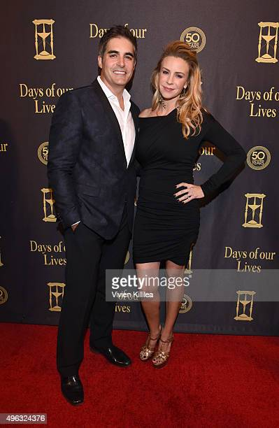 Actors Galen Gering and Jenna Gering attend the Days Of Our Lives' 50th Anniversary Celebration at Hollywood Palladium on November 7 2015 in Los...