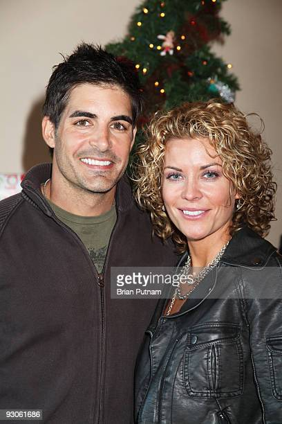 Actors Galen Gering and McKenzie Westmore attend 'Alison Sweeney Hosts Hallmark Holiday Event to Benefit Feeding America' on November 14 2009 in Los...